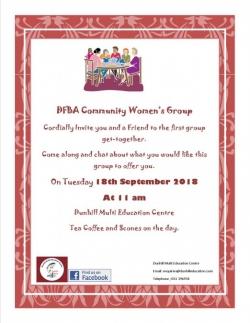 DFBA Community Women's Group Invite